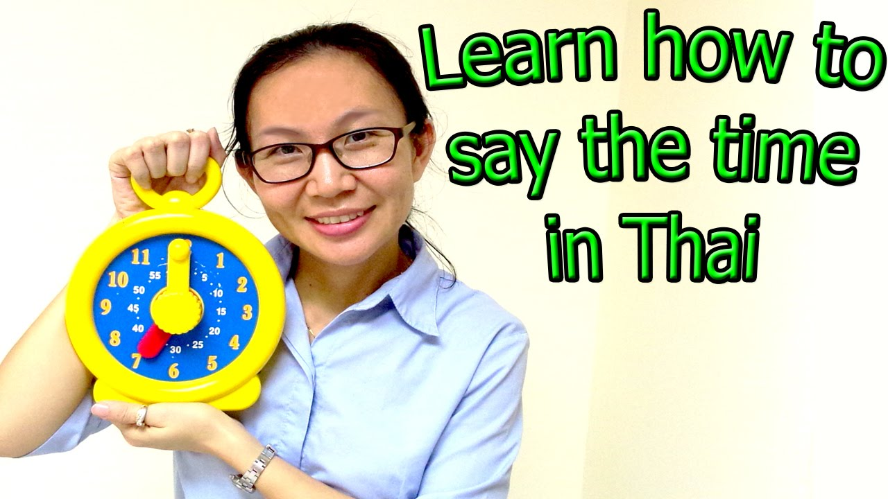 learn how to say the time in german