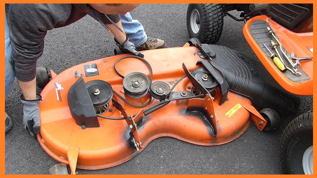 Riding Mower Lawn Tractor Deck