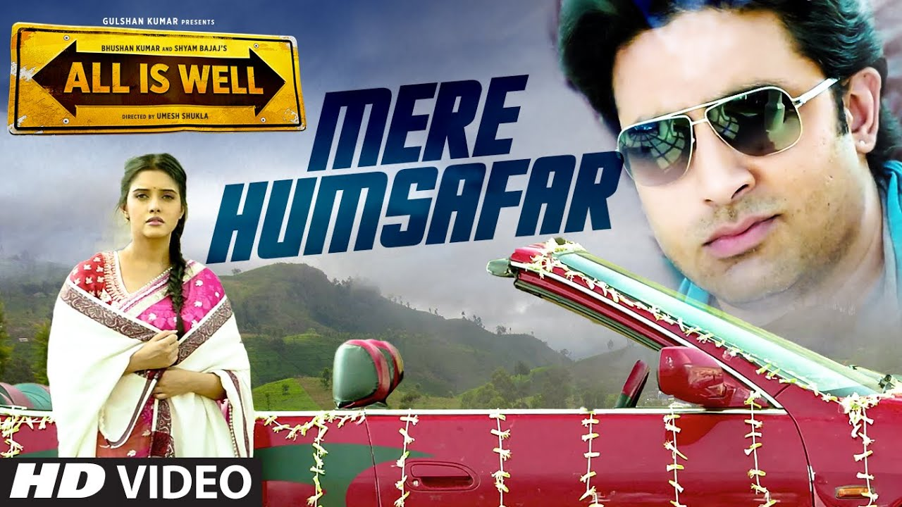 Download Mere Humsafar VIDEO Song - Mithoon & Tulsi Kumar | All Is Well | T-Series