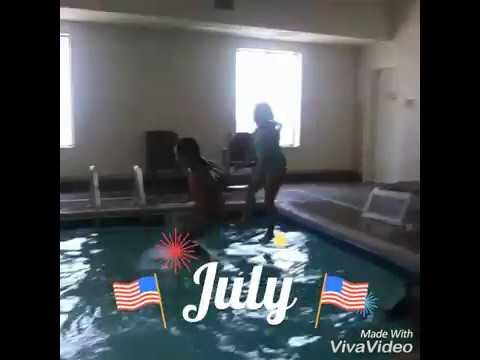Going swimming in Nebraska at the comfort inn!!!!