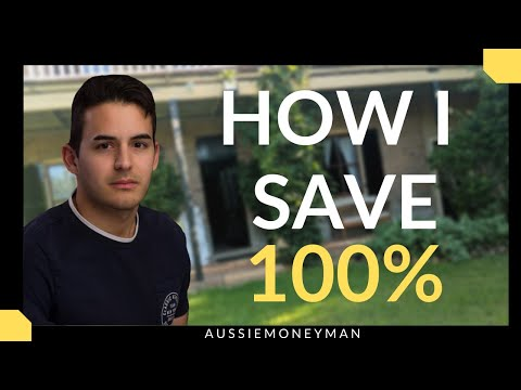 How I Save 100% Of My Income