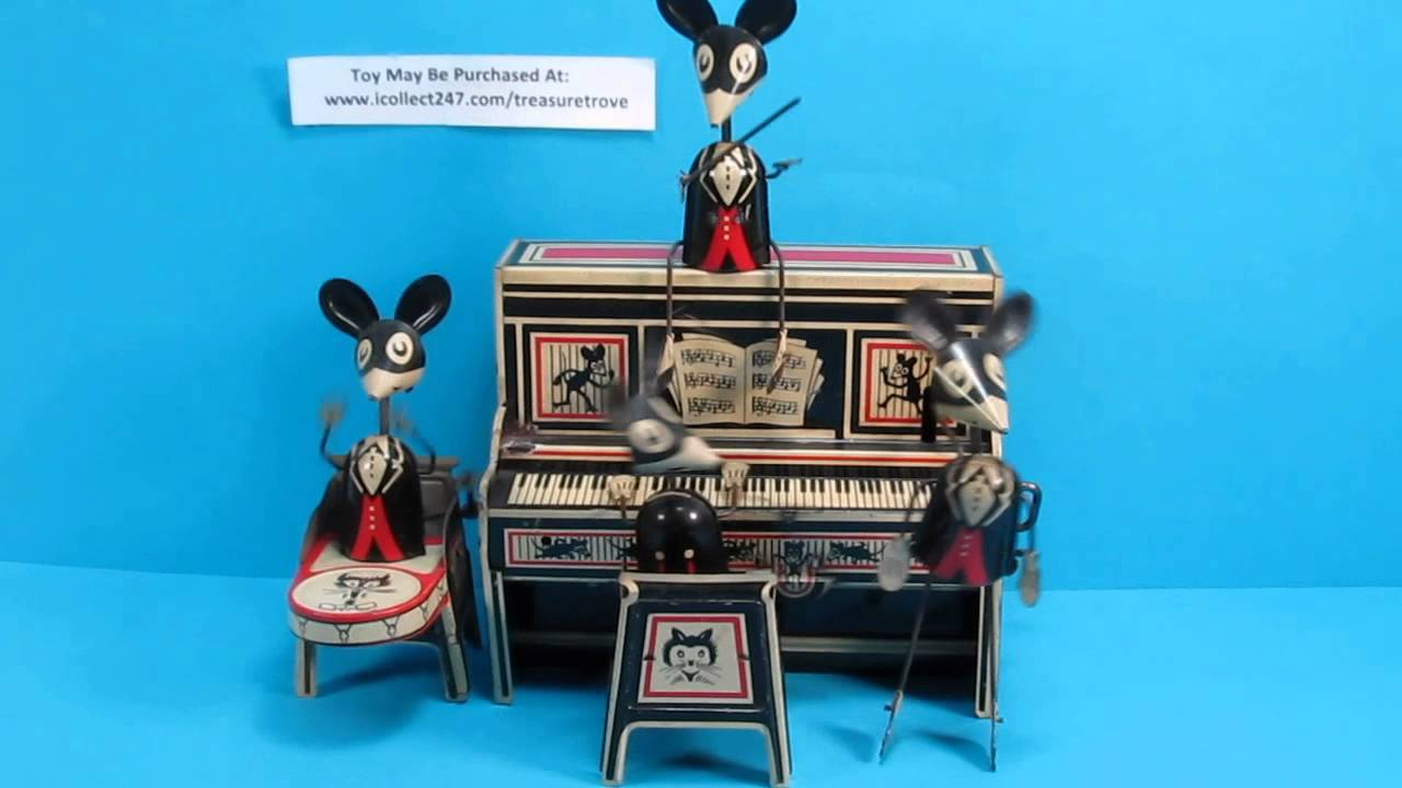 merrymakers band marx windup toy 1929 youtube. Black Bedroom Furniture Sets. Home Design Ideas