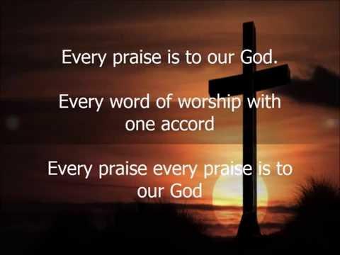 Every Praise by Hezekiah Walker, with Lyrics Instrumental