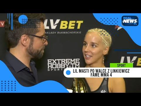Lil Masti po walce z Linkiewicz: Zawalczyłabym z jakąś fajną kontrowersyjną dziewczyną | FAME MMA 4