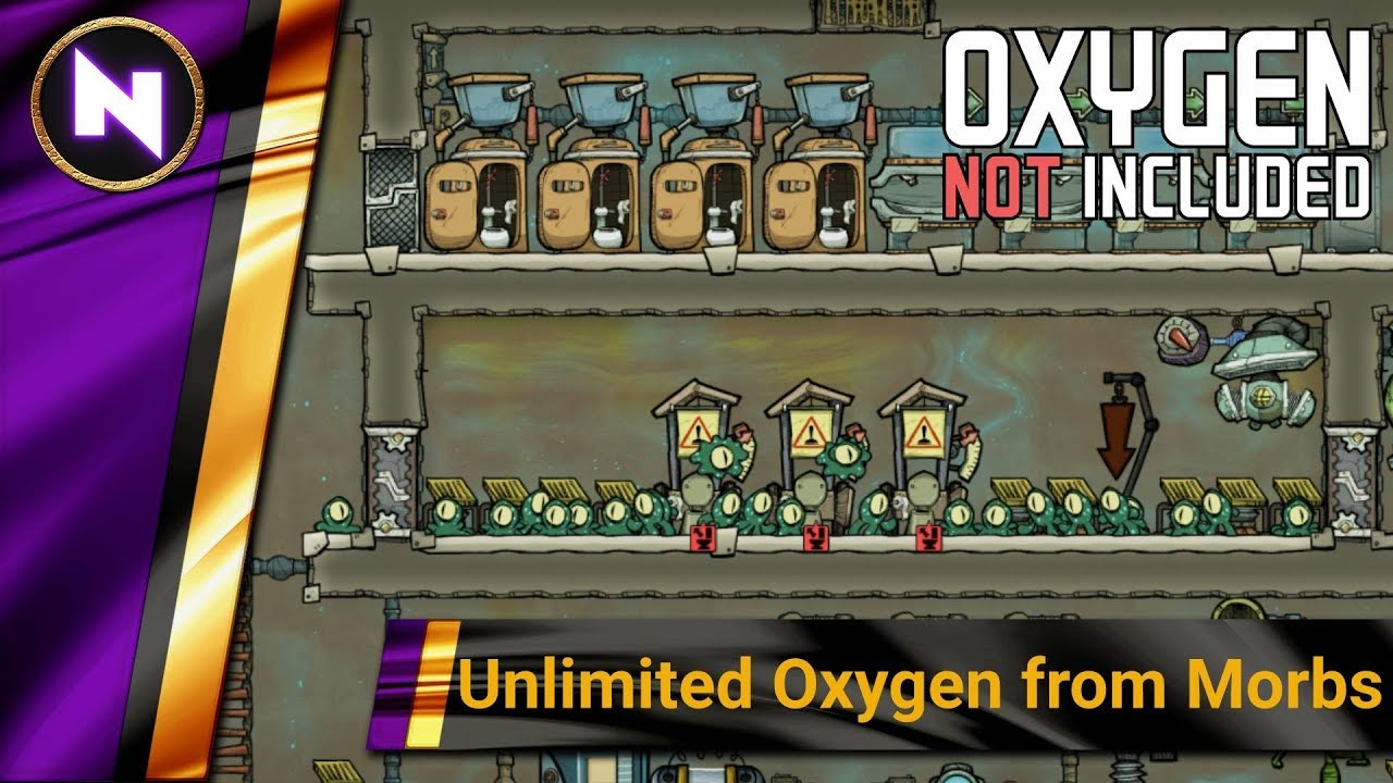 UNLIMITED FREE OXYGEN FROM MORBS - Oxygen Not Included - Basic Builds