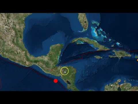 Strong 7.0 Earthquake Hits Off El Salvador/Nicaragua Coast As Hurricane Otto Approaches