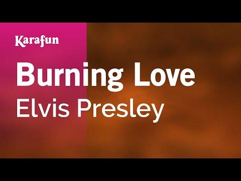 Karaoke Burning Love - Elvis Presley *