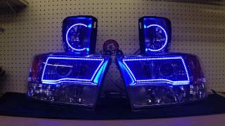 Quick video of a set of lights we just completed and ready to ship ...