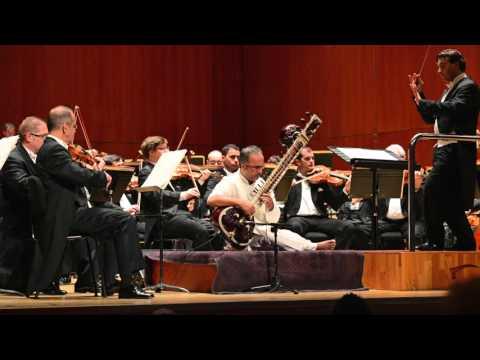 Shubhendra Rao performs Pandit Ravi Shankar's Sitar Concerto No 1 with Conductor Jordi Bernacer.