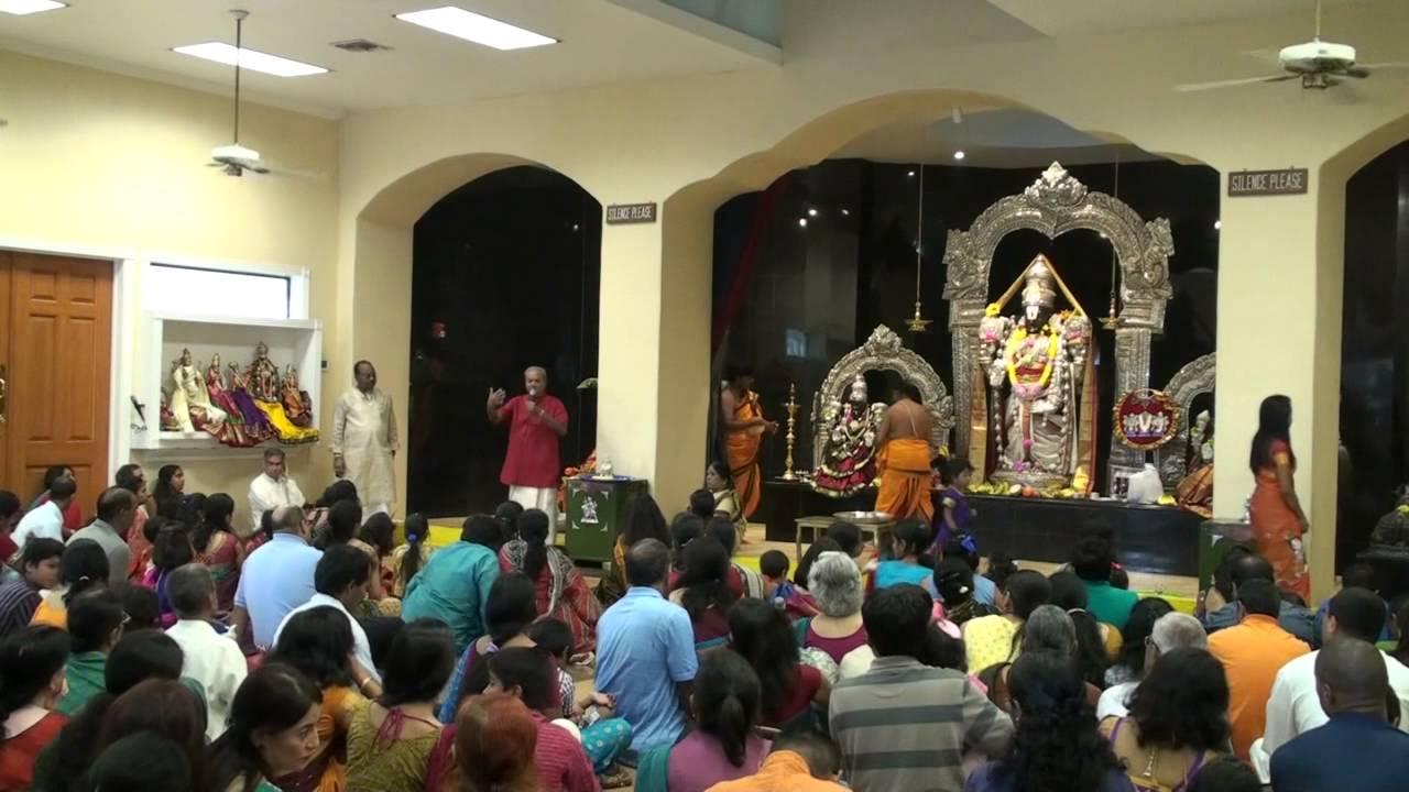 Ganesh Chaturthi 2013 Satsang By Dr Ramakrishna Rao