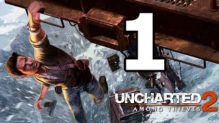 Uncharted 2: Among Thieves Remastered Walkthrough Part 1 - No Commentary Playthrough (PS4)