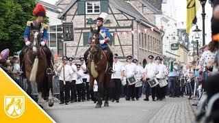Königsparade zieht durch Korschenbroich