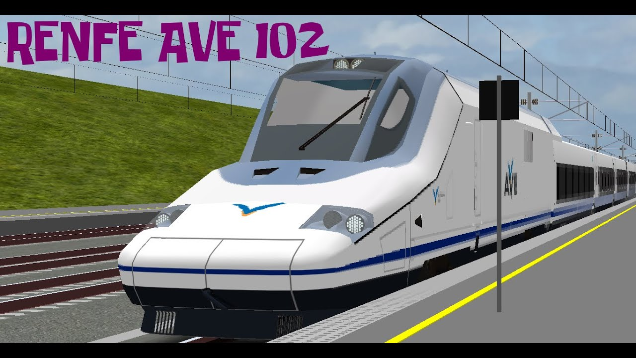 [OpenBVE] Renfe AVE serie 102 Original - Preview #1