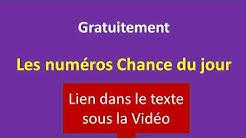 NUMERO CHANCE DU JOUR, GRATUIT