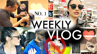 Weekly Vlog N.1 | Why We Quit Partying, Fighting W/ Family, Target Trip
