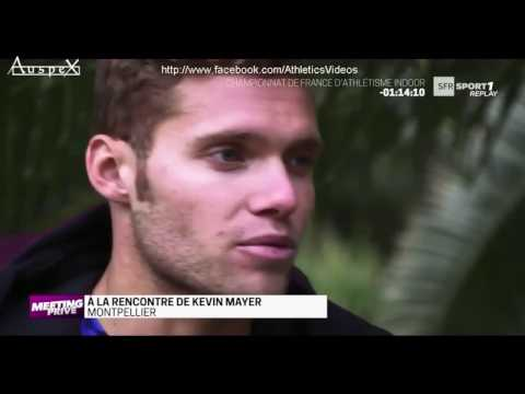Kevin Mayer, meeting privé (2017)