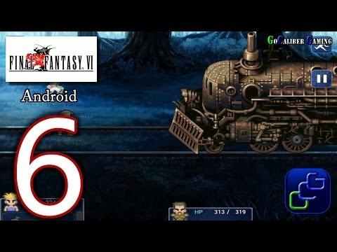FINAL FANTASY 6 (VI) Android Walkthrough - Part 6 - Sabin Scenario: Phantom Train