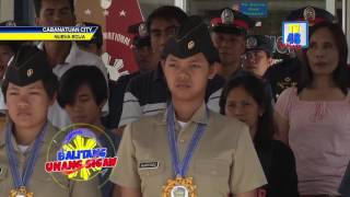 CADET FIRST CLASS ROVI MAIREL MARTINEZ, BINIGYANG PARANGAL NG NUEVA ECIJA PROVINCIAL POLICE