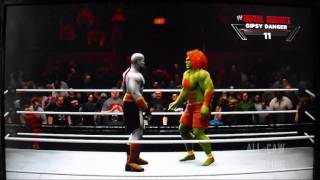 Ultimate Warrior Memorial Royal Rumble Match (All-CAW Mania Part 5)