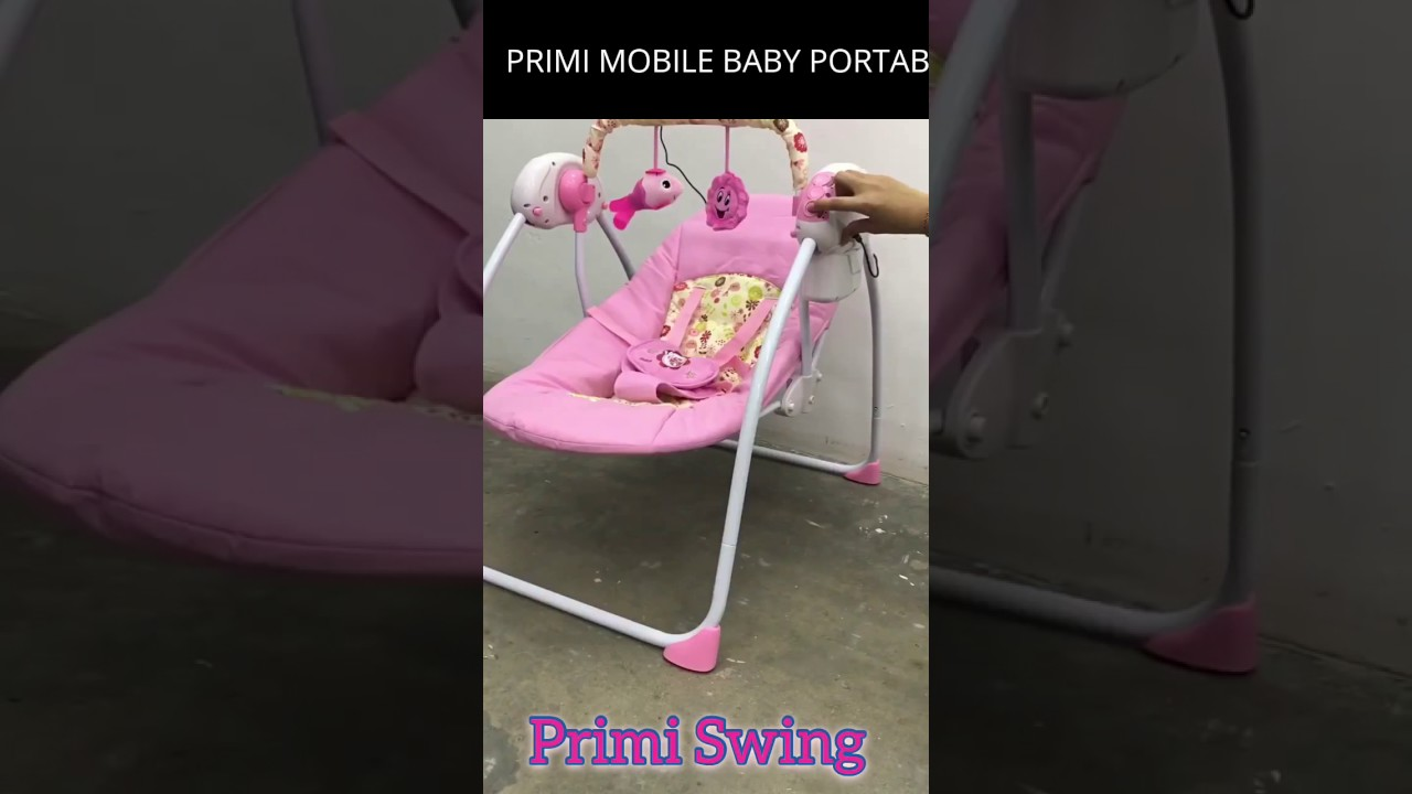 baby swing chair youtube outdoor portable high primi mobile rocker