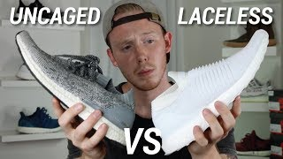 IS THE ULTRA BOOST LACELESS BETTER THAN THE UNCAGED?
