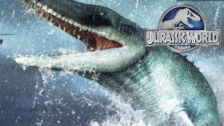 Thủy Quái Lên Bờ Cắn Nát Máy Bay - Jurassic World Công Viên Khủng Long