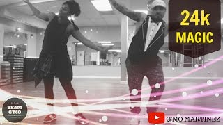 24k Magic (Dance Fitness Choreo) - Bruno Mars ft G'mo Martinez & Tamika Horn