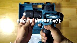 Mesin Bor Tembok Beton Baterai - Cordless Impact Drill Makita HP331DWYE - HP 331 DWYE - HP331