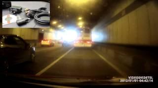 видеорегистратор Видеосвидетель 3610 FHD G тестовое видео