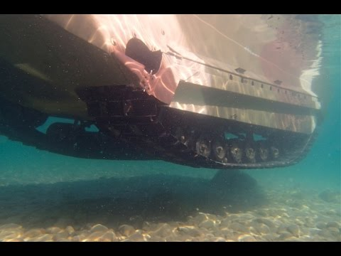 M29C USMC Water Weasel Underwater Views - amphibious operation