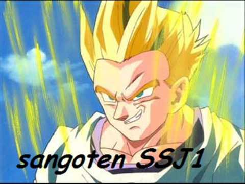 Dbz tous les super sayen youtube - Sangoten super sayen 3 ...
