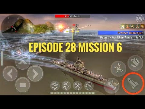 Warship battle | Episode 28 mission 6 | Longbeach Desert