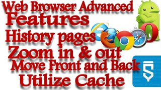 How to add advanced features in web browser|Sketchware Tutorials