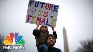 Women's March on Washington: Highlights | NBC News