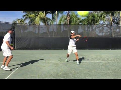 Modern Tennis Forehand