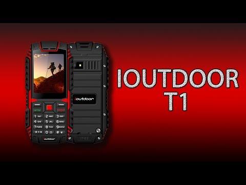IOutdoor T1 - так выглядит самый лучший защищённый кнопочный телефон!