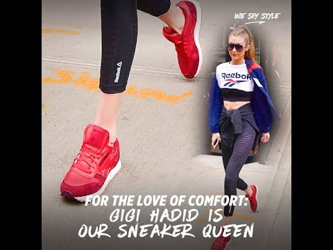 For The Love of Comfort:  Gigi Hadid is Our Sneaker Queen thumbnail