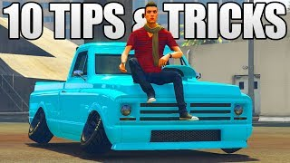 10 NEW TIPS, TRICKS & SECRETS YOU NEED TO KNOW ABOUT IN GTA 5 ONLINE (GTA 5 Tips, Tricks & Secrets)