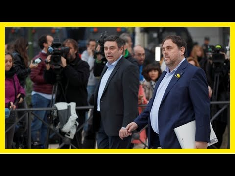 US Newspapers - Arrest warrant issued for puigdemont, catalan leaders ordered to be held pending tr