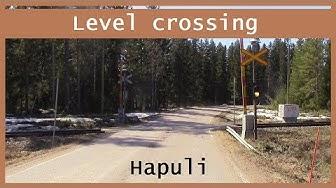 Hapuli. half-barrier device Ylivieska