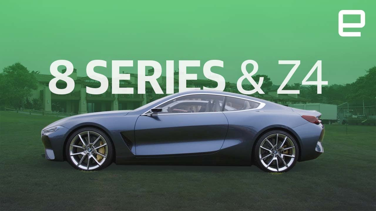 Bmw 8 Series And Z4 First Look Youtube