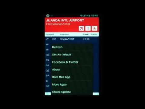 Indonesia FlightBoard - Android App