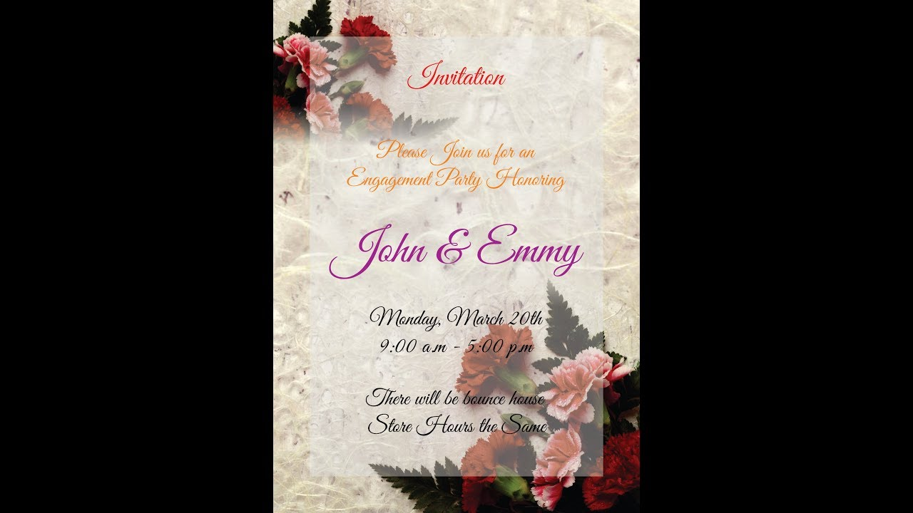 Corel Draw How To Make An Invitation Card 10