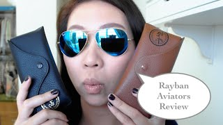 Rayban Aviators Review(Hello! I thought I would give my two cents on this super popular style from Rayban. Love them and really glad I gave them a chance. Follow me on instagram for ..., 2014-10-09T01:09:34.000Z)