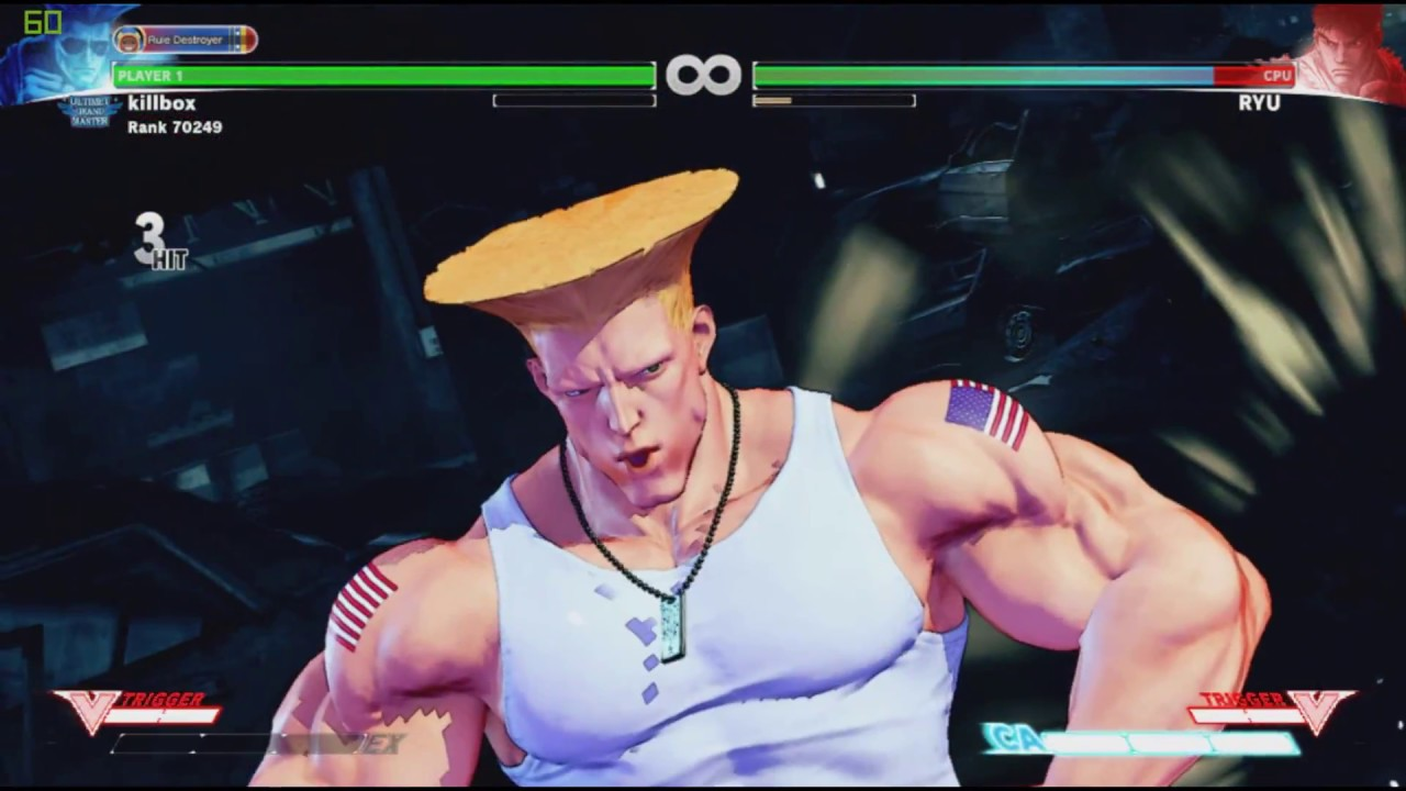 Mix and match fan-made Critical Arts with Street Fighter V's