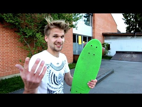 Penny Board Nose Manual And Grinds
