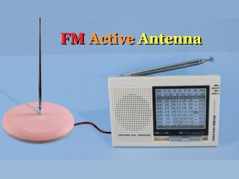 How to Make an FM Antenna from Speaker Wire?