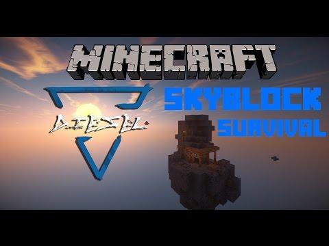 Fanni itt a csákány! | Skylands survival #2 | Minecraft | Diesel
