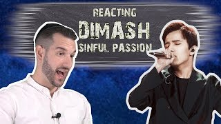 VOCAL COACH reacts to DIMASH singing SINFUL PASSION