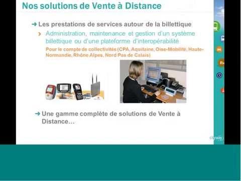 """6 - Webinar CITYWAY - """"Les solutions de Vente à Distance"""""""